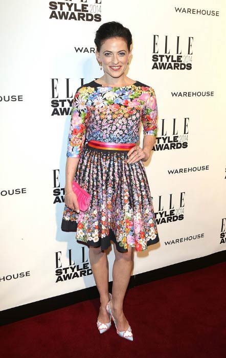 Lara Pulver at the 2014 Elle Style Awards