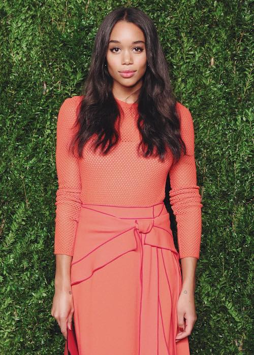 Laura Harrier at the 13th Annual CFDA/Vogue Fashion Fund Awards in November 2016