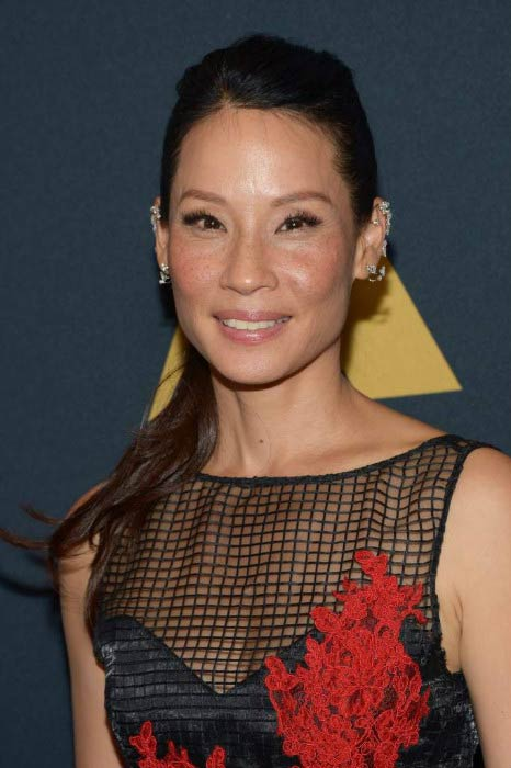 Lucy Liu at the Academy of Motion Picture Arts and Sciences Awards in September 2016