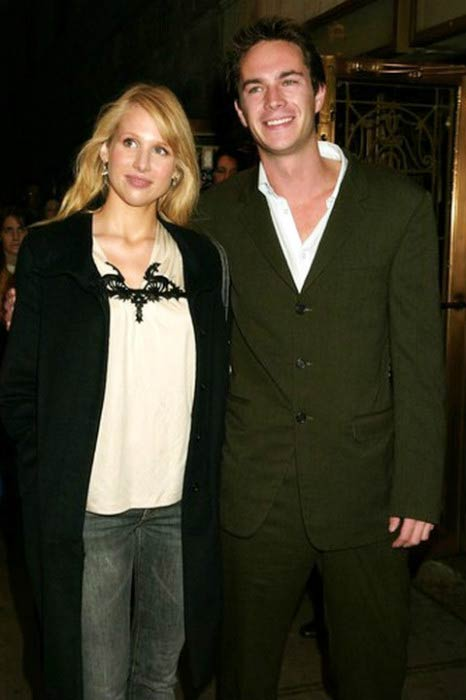 Lucy Punch and James D'Arcy at the post-premiere party of Master and Commander in November 2003