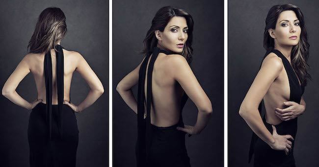 Marisol Nichols's self-assigned photoshoot by celebrity photographer Felix Kunze in March 2013