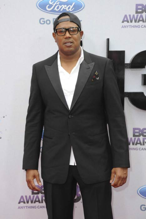 Master P at the BET Awards in June 2013
