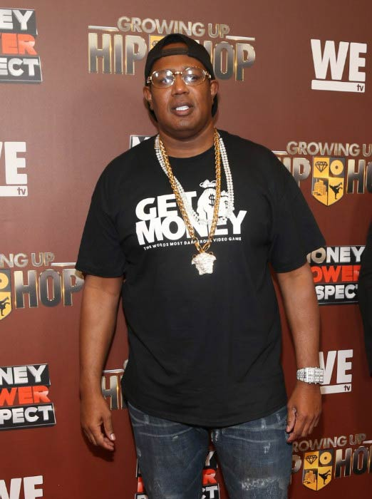 Master P at the WE tv's Growing Up Hip Hop Season 2 Premiere Screening and After Party in September 2016