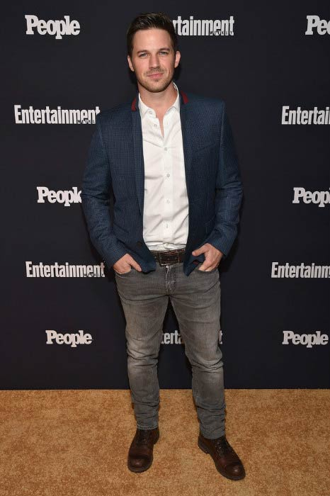Matt Lanter at the Entertainment Weekly and PEOPLE Upfronts party in May 2017
