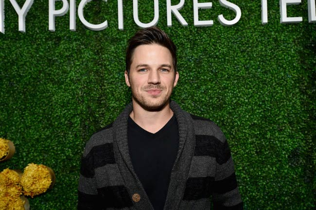 Matt Lanter at the Sony Pictures Television LA Screenings Party in May 2017