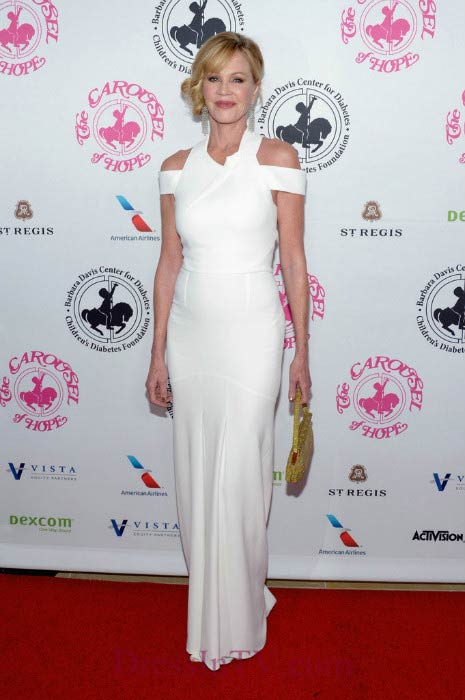 Melanie Griffith at the Carousel Of Hope Ball in October 2016