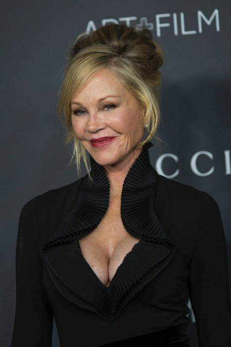 Melanie Griffith at the LACMA Art + Film Gala in October 2016
