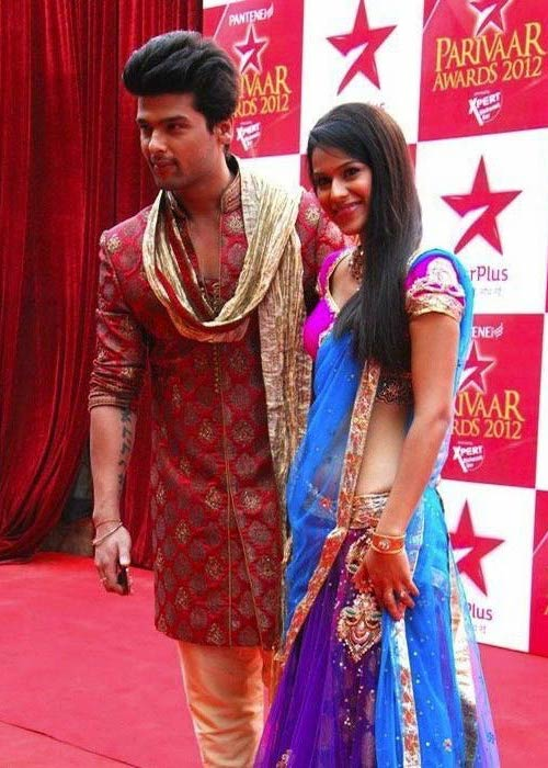 Nia Sharma and Kushal Tandon at the Star Parivaar Awards in March 2012
