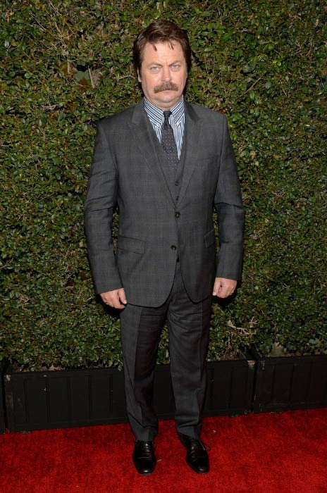 Nick Offerman at the Writers Guild Awards L.A. Ceremony in February 2017