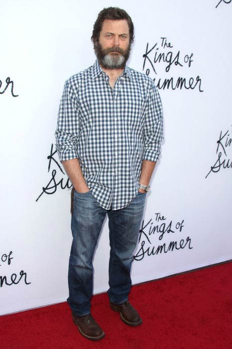 Nick Offerman at the screening of CBS Films' 'The Kings of Summer in May 2013
