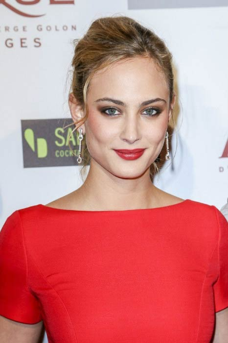 Nora Arnezeder at the 'Angelique' Paris Premiere in December 2013