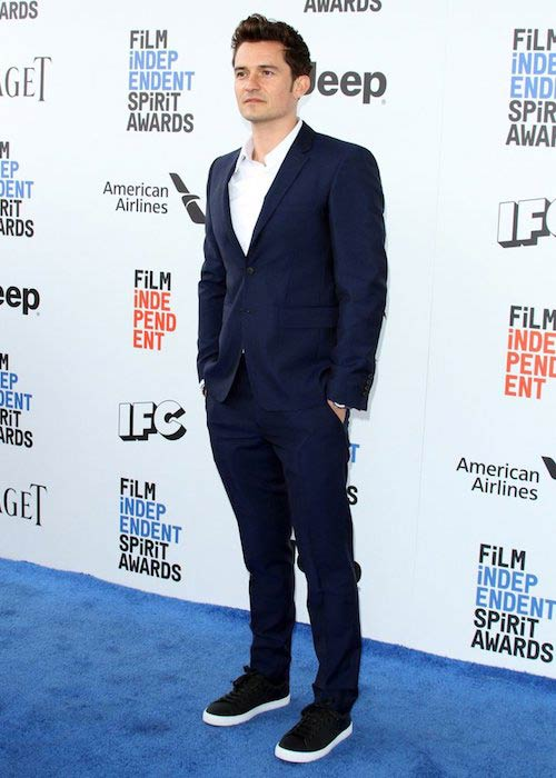 Orlando Bloom 2017 Film Independent Spirit Awards