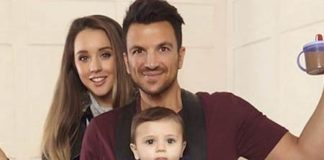 Peter Andre with wife Emily MacDonagh - Featured Image