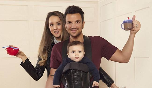 Peter Andre with wife Emily MacDonagh and son Theodore James