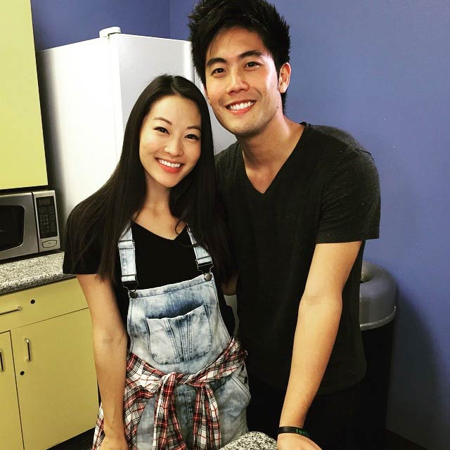 Ryan Higa and Arden Cho in a picture shared on social media in 2016