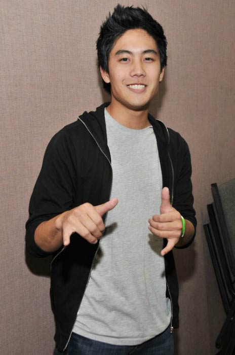 Ryan Higa poses at a public function