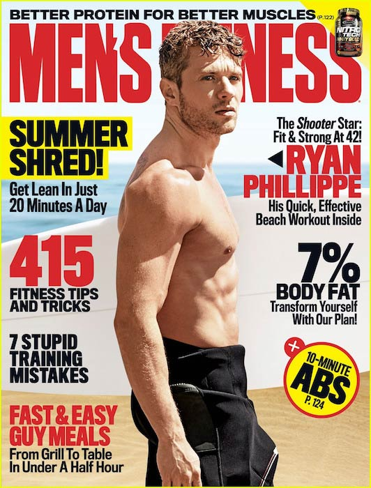 Ryan Phillippe Men's Fitness cover