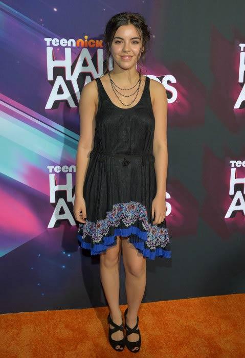 Samantha Boscarino at the Nickelodeon's TeenNick HALO Awards in November 2012