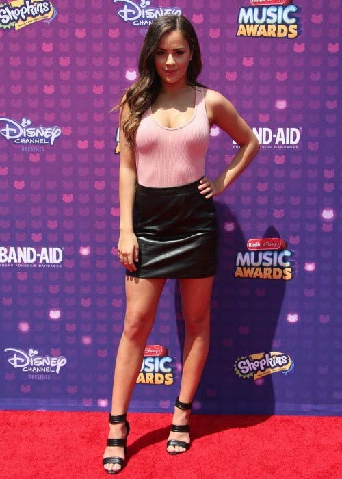 Tessa Brooks at the Radio Disney Music Awards in 2016