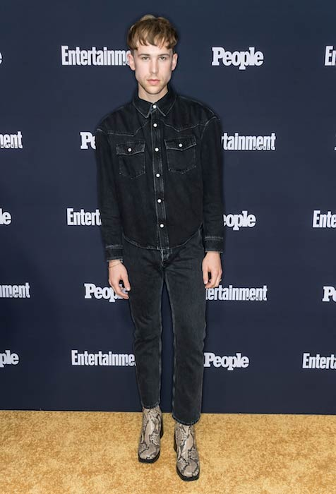 Tommy Dorfman at the Netflix sponsored Entertainment Weekly and PEOPLE Upfronts Party in New York in May 2017