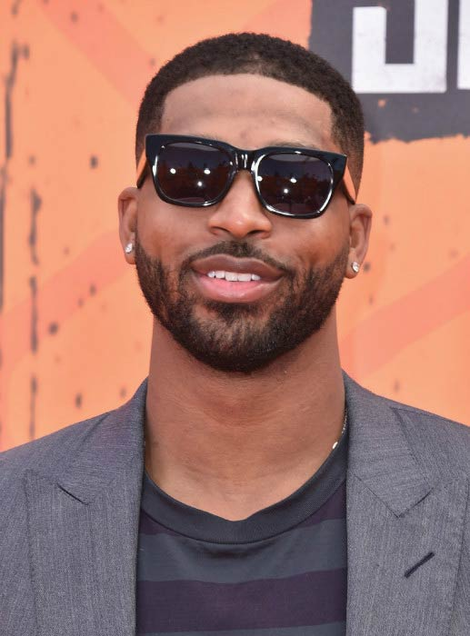 Tristan Thompson at the 2016 Nickelodeon Kids' Choice Sports Awards