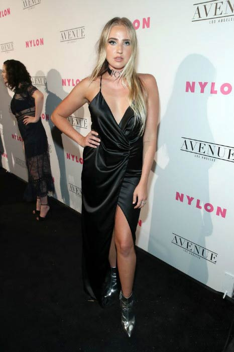 Veronica Dunne at the NYLON Young Hollywood Party in May 2017
