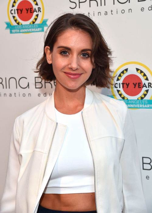 Alison Brie at 2017 City Year Los Angeles Spring Break