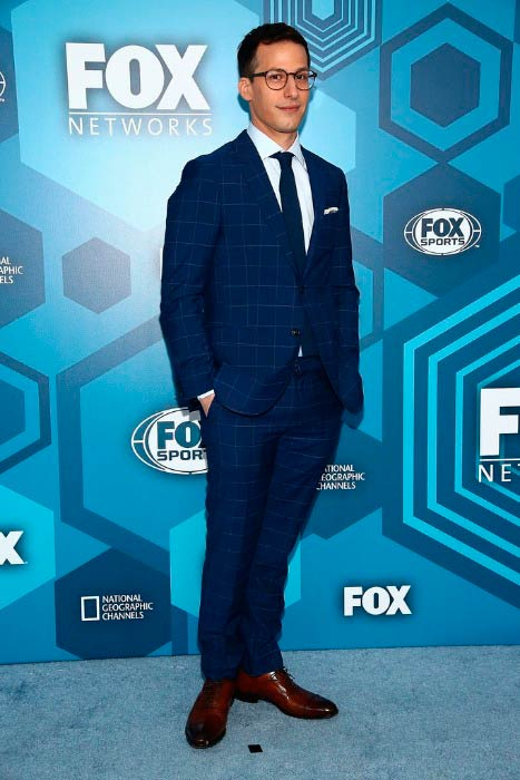Andy Samberg at the FOX 2016 Upfront Arrivals in May