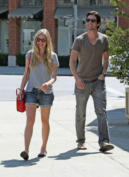 Ben Barnes and Amanda Seyfried out for a lunch in West Hollywood in September 2012