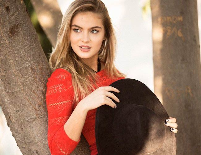 Brighton Sharbino's self-assigned photoshoot with JRV films in November 2016
