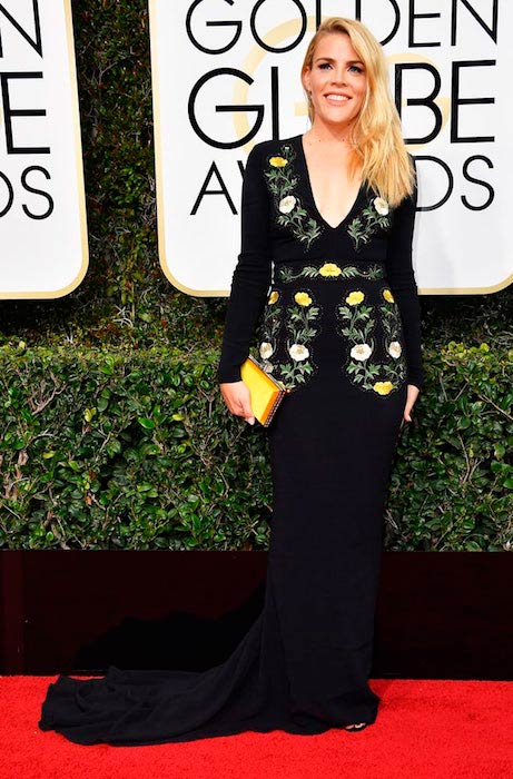 Busy Philipps at 2017 Golden Globes