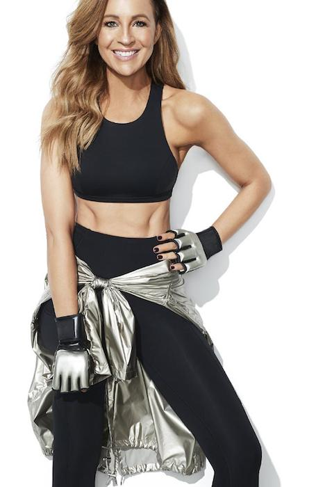 Carrie Bickmore during Women's Health photoshoot