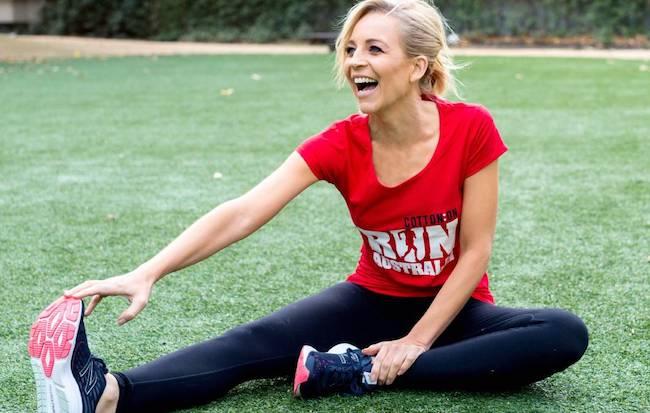Carrie Bickmore has been chosen as the new Run Australia ambassador