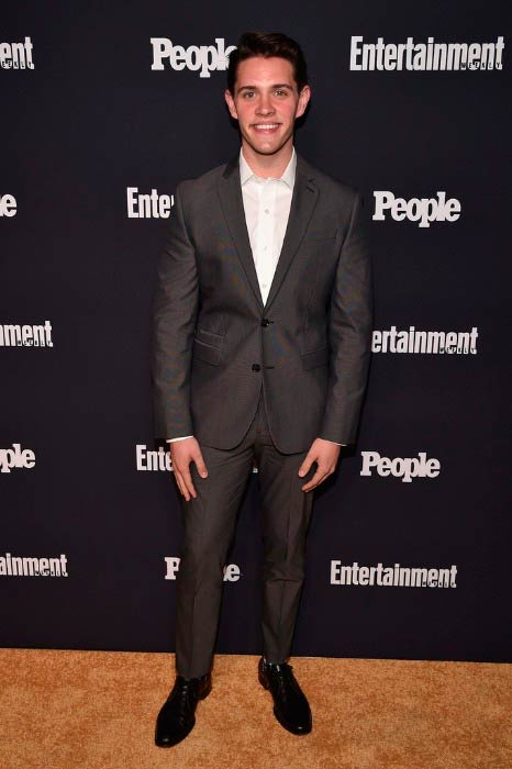 Casey Cott at the Entertainment Weekly and PEOPLE Upfronts party in May 2017
