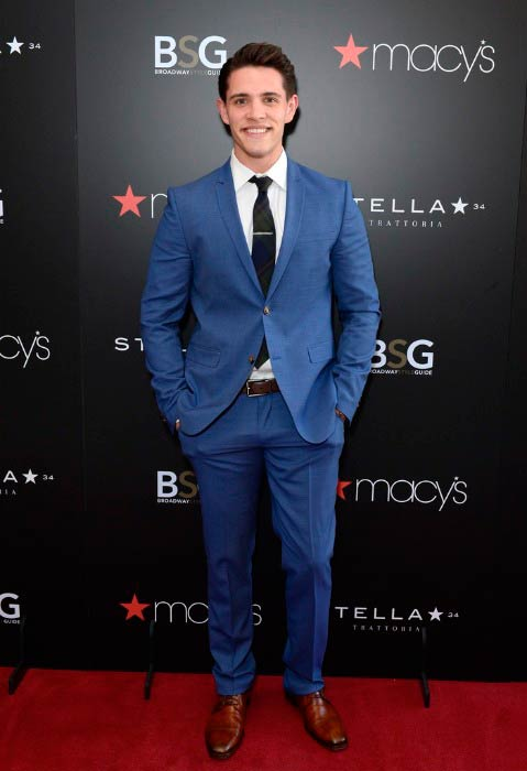 Casey Cott at the Macy's and Broadway Style Guide event in June 2016