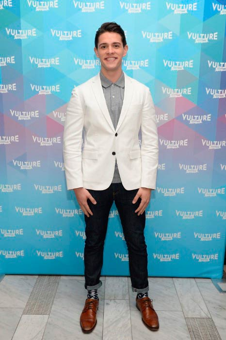 Casey Cott at the Vulture Festival in May 2017