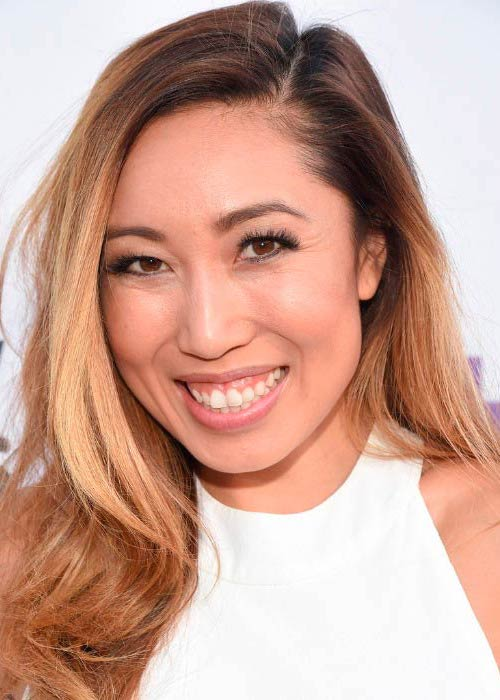 Cassey Ho at the VH1's 5th Annual Streamy Awards in September 2015