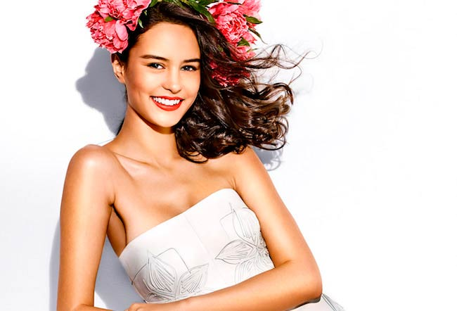 Courtney Eaton photoshoot for Vanity Fair May 2015