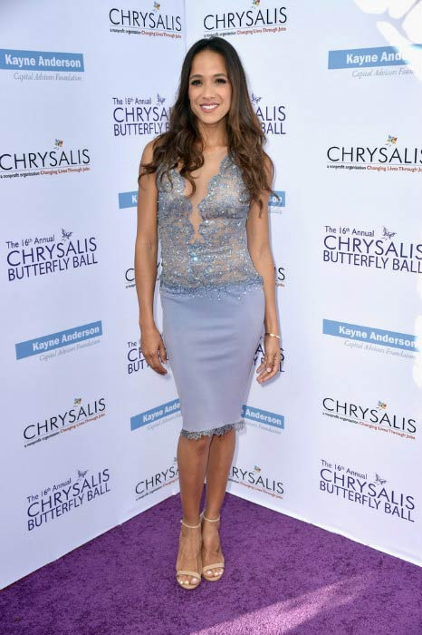 Dania Ramirez at the 16th Annual Chrysalis Butterfly Ball in June 2017