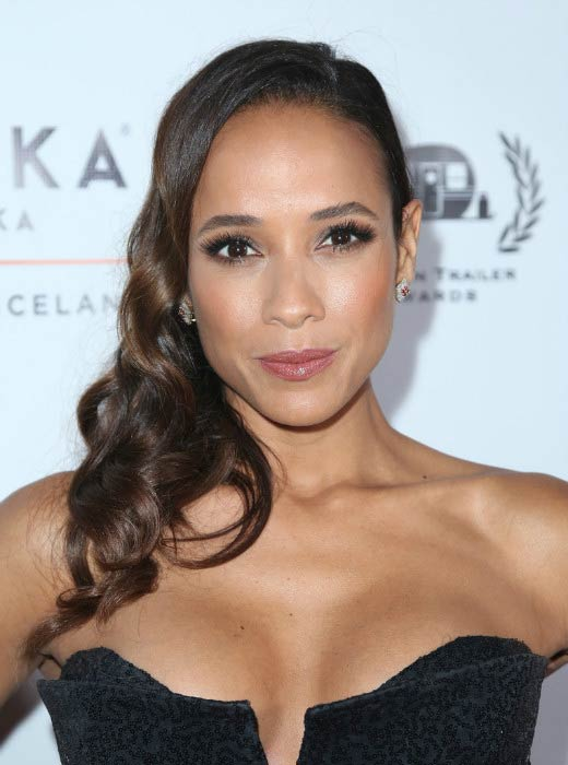 Dania Ramirez at the 18th Annual Golden Trailer Awards in June 2017