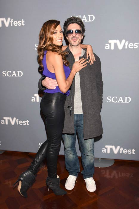 Dania Ramirez and Bev Land at the Devious Maids event during aTVfest in February 2016