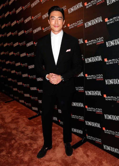 Daniel Henney at the Hamilton Behind The Camera Awards in November 2014