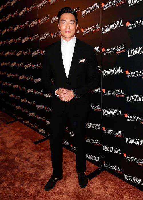 Daniel Henney at the Hamilton Behind The Camera Awards in November 2014