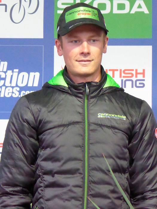 Dylan Van Baarle, a rider of Cannondale-Drapac