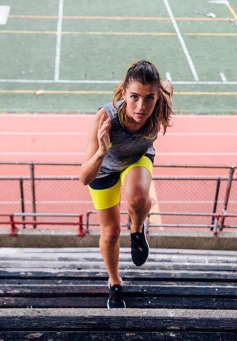 Florencia Galarza stair climbing workout