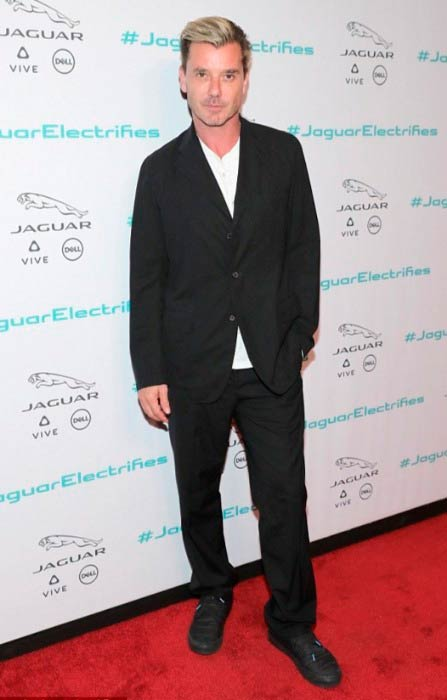 Gavin Rossdale at the Jaguar Concept reveal during Los Angeles Auto Show in November 2016
