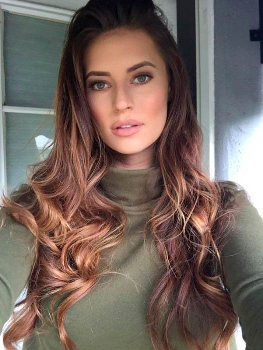 Hannah Stocking in a picture shared on social media in 2016