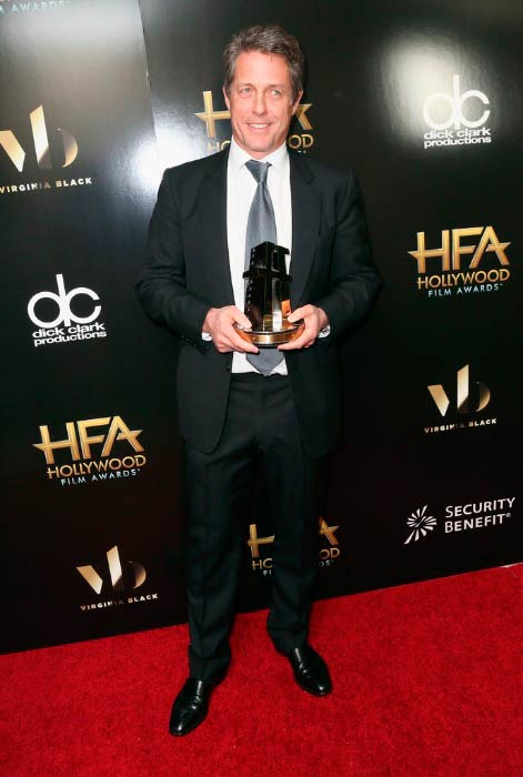 Hugh Grant at the 2016 Hollywood Film Awards in Beverly Hills