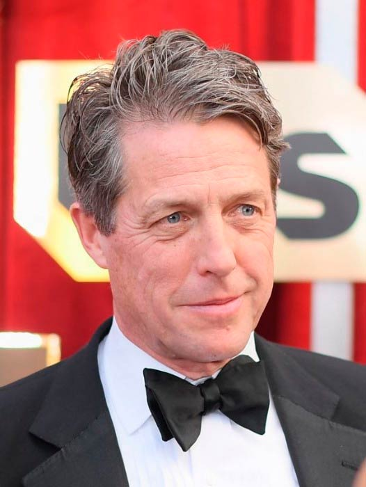 Hugh Grant at the 2017 Annual Screen Actors Guild Awards