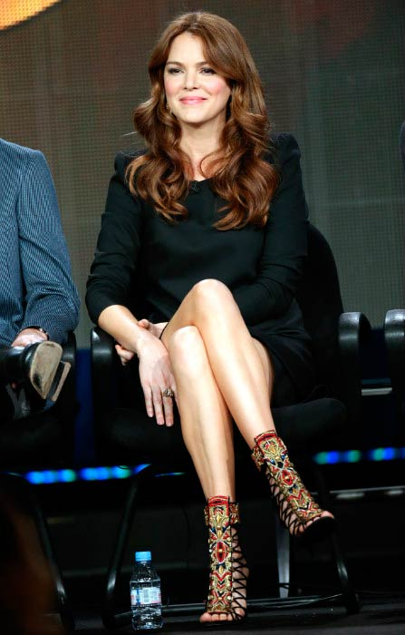 Jacinda Barrett at the ABC Zero Hour during Winter TCA Tour in January 2013